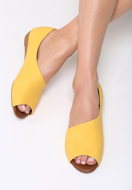 Żółte Balerinki Small Things