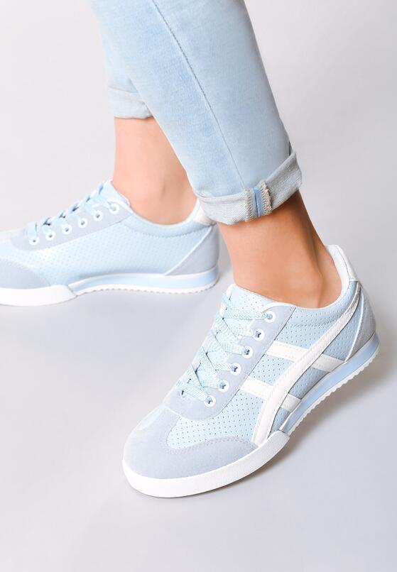 Niebieskie Buty Sportowe Humidly
