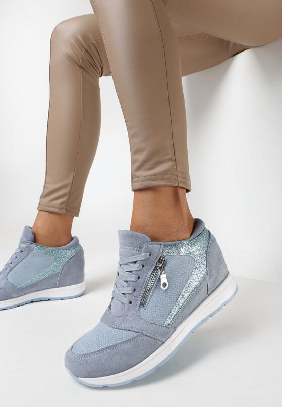 Niebieskie Sneakersy Every Position