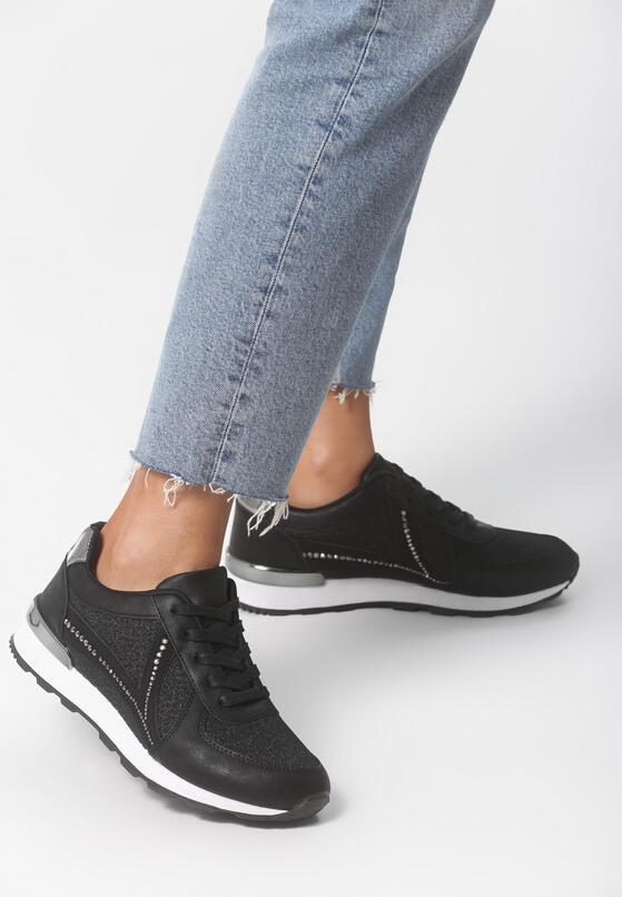 Czarne Buty Sportowe Ever Think