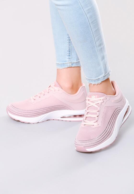 Różowe Buty Sportowe Soft Day