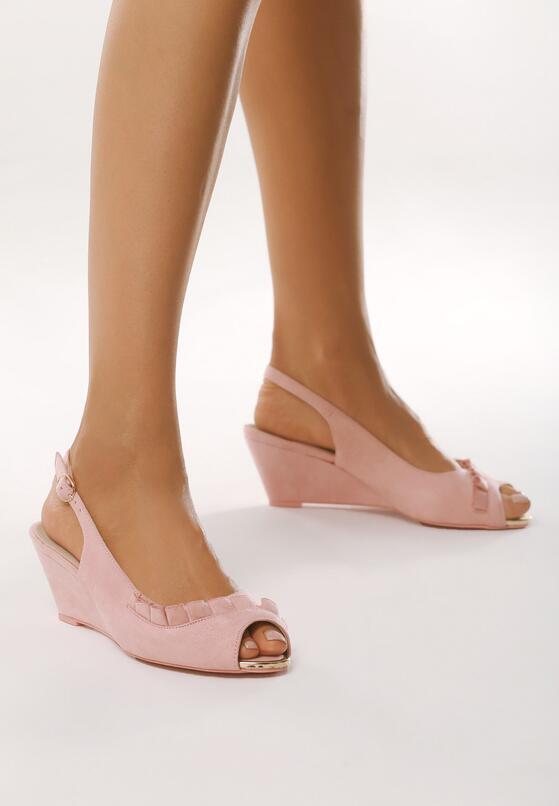Różowe Sandały Going Out Tonight