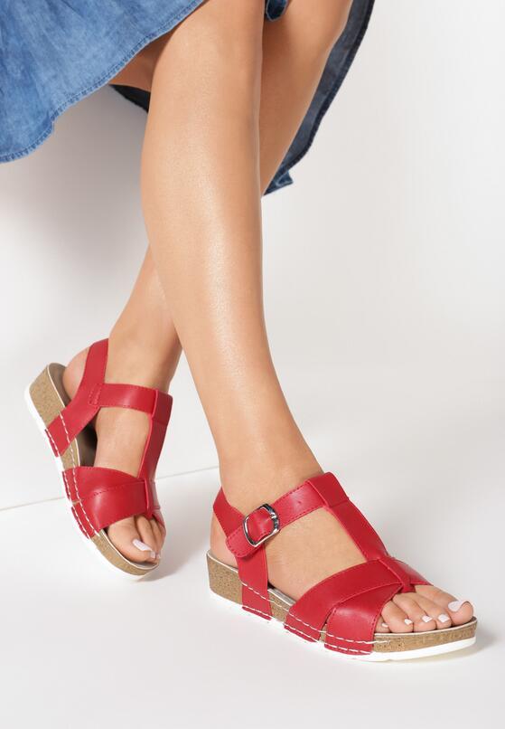 Czerwone Sandały Indian Summer