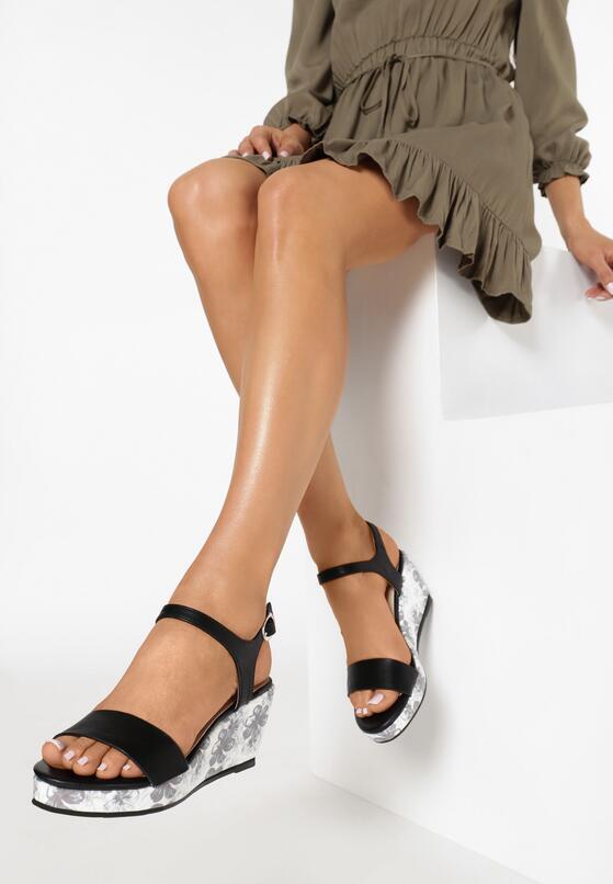 Czarne Sandały Part Of Me
