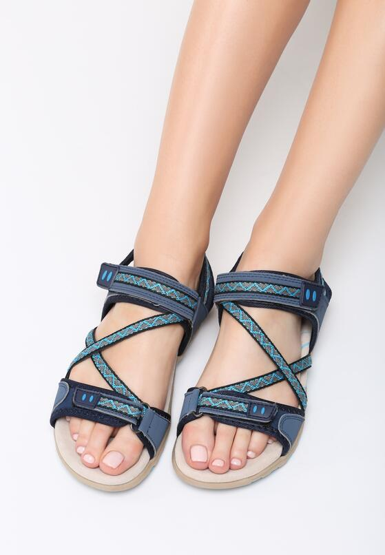 Niebieskie Sandały Juniper
