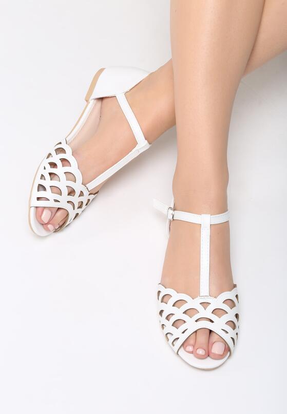Białe Sandały Bazaar