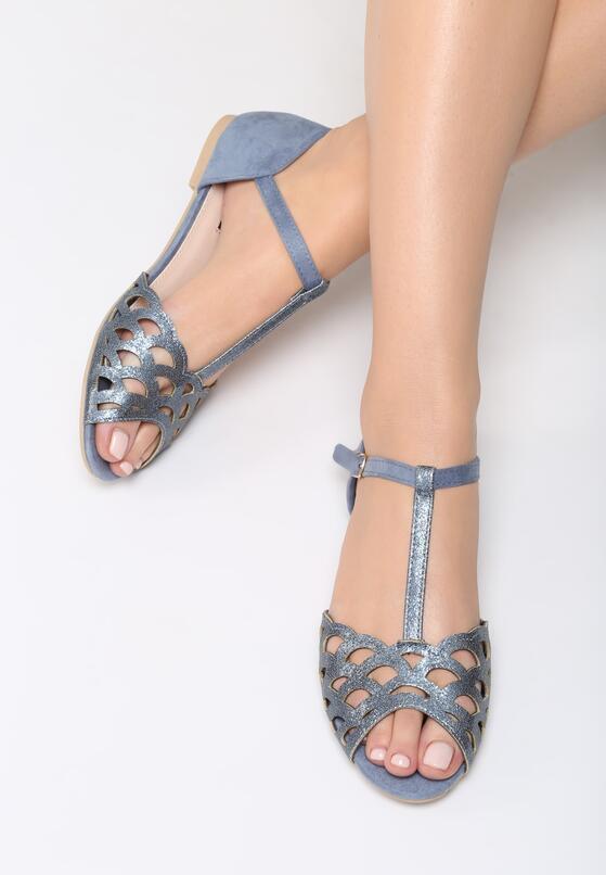 Niebieskie Sandały Bazaar
