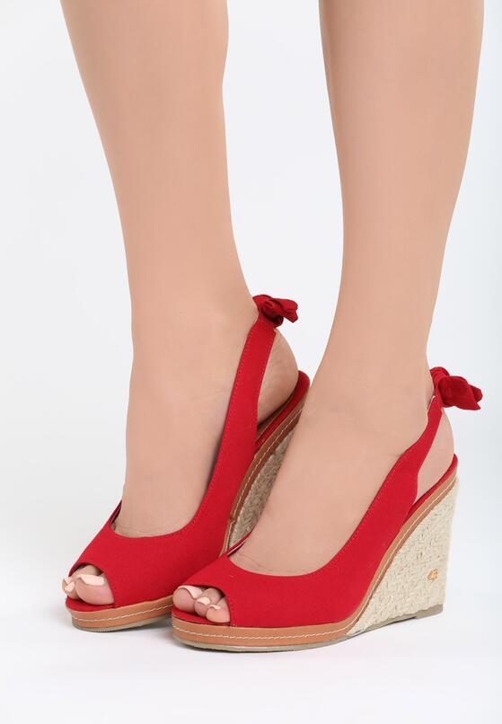 Czerwone Sandały Pinky Runaway