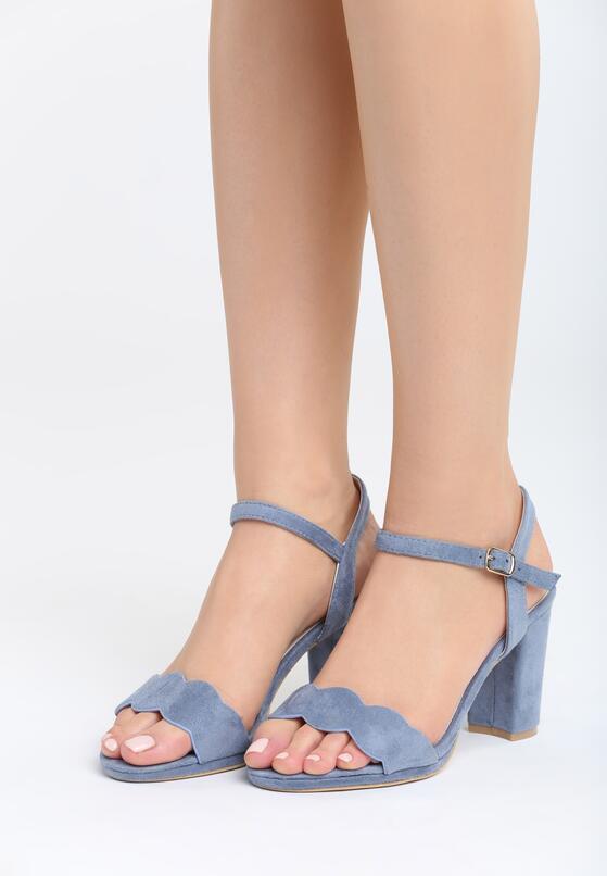 Niebieskie Sandały Greatest Heights