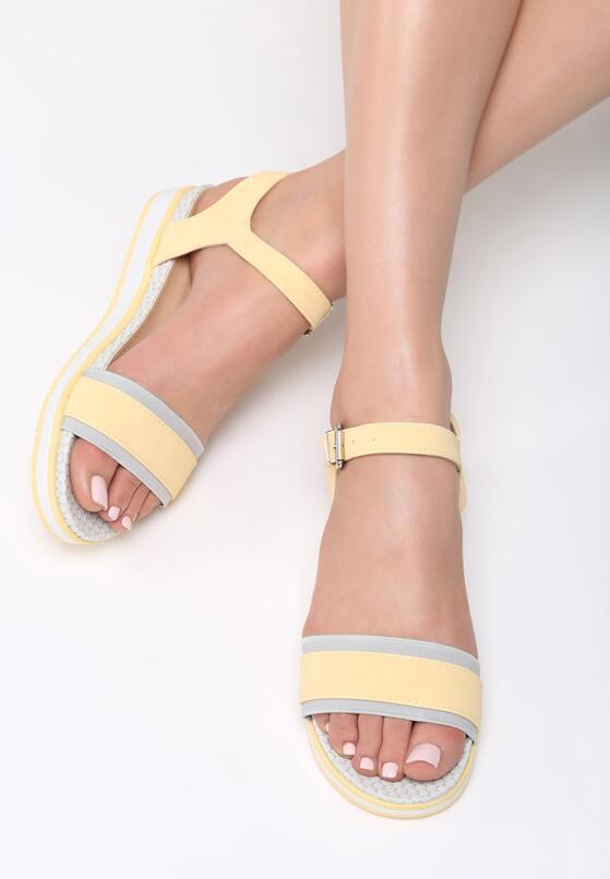 Żółte Sandały Halcyon Days