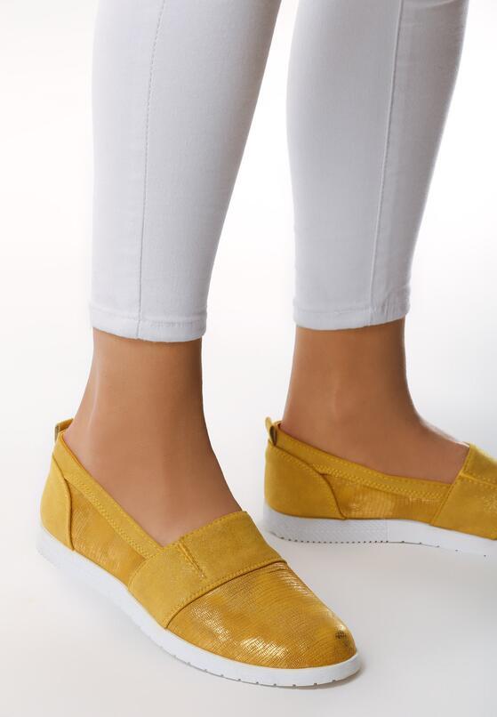 Żółte Slip On Trey Day
