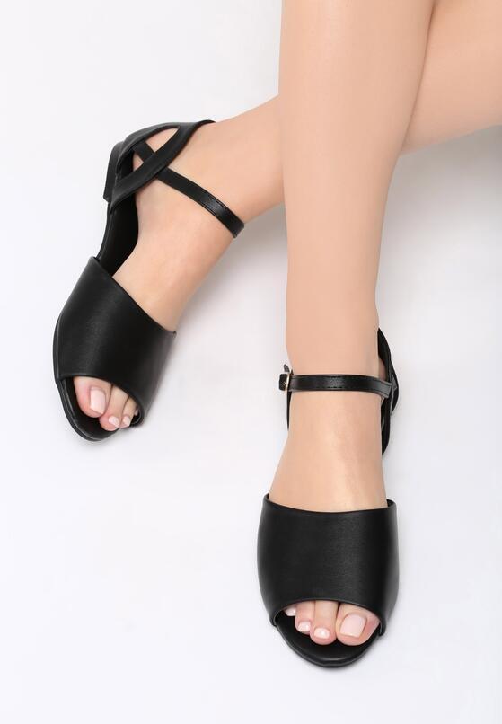 Czarne Sandały Make A Move