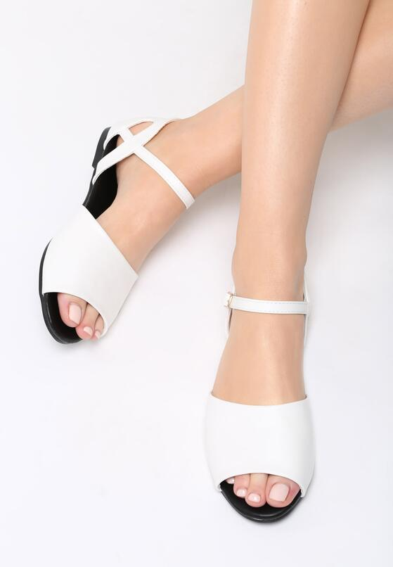 Białe Sandały Make A Move