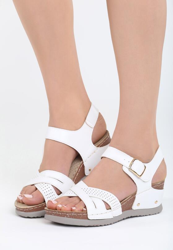 Białe Sandały Connection