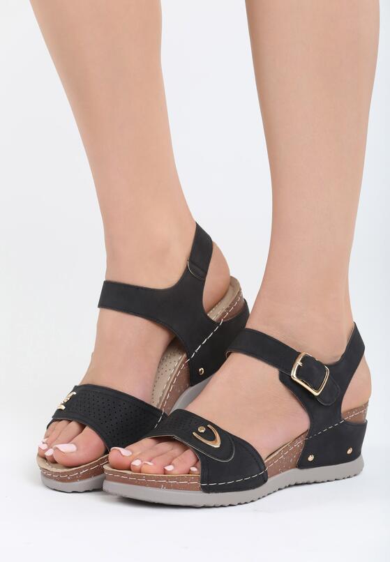 Czarne Sandały Don't Judge