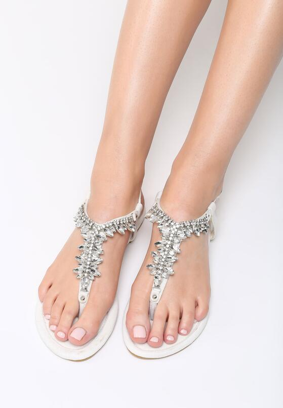 Białe Sandały Goddess Of Love