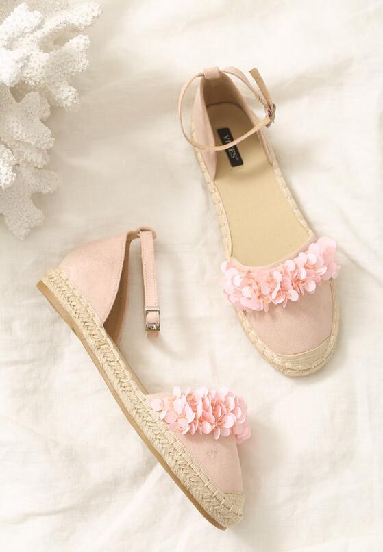 Różowe Espadryle Mimi Pink