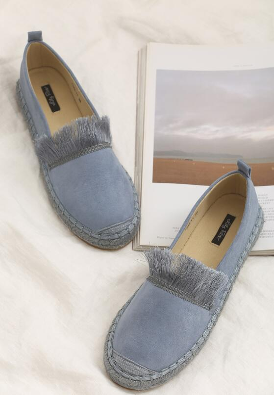 Niebieskie Espadryle Beautiful Surprise