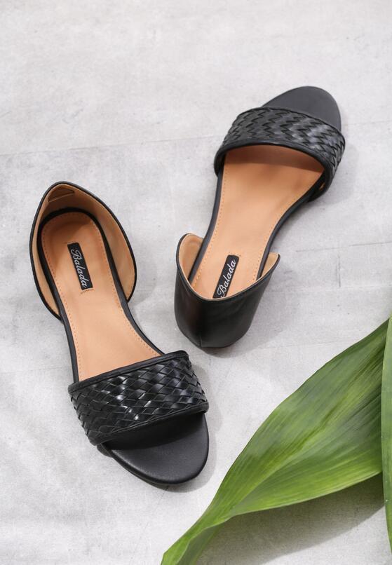 Czarne Sandały Don't Be Shy