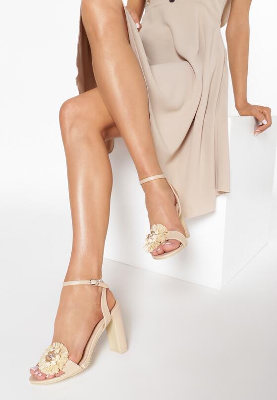 Beżowe Sandały Be Unique