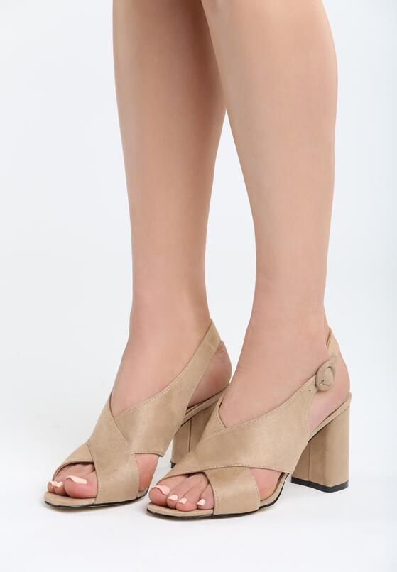 Beżowe Sandały The Movement