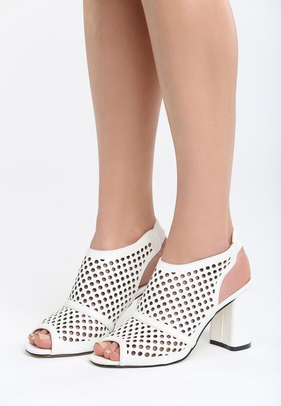 Białe Sandały My Only Love