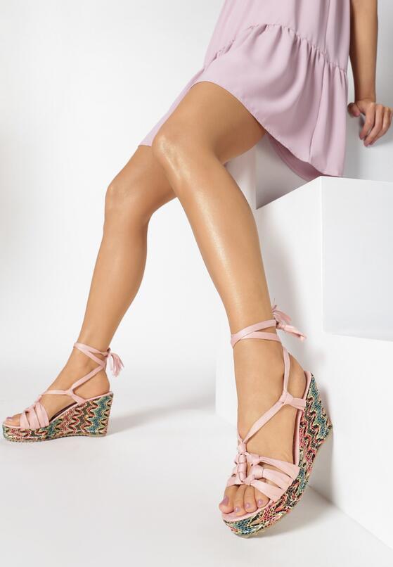 Różowe Sandały Rufous