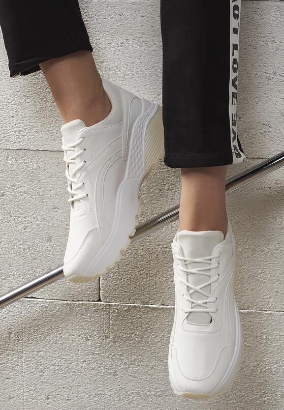 Białe Buty Sportowe Stereo Love