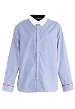 Niebieska Koszula Barred