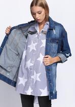 Granatowa Koszula Starshine