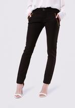 Czarne Spodnie Hushed