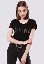 Czarna T-shirt Rich