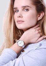 Biały Zegarek Plain