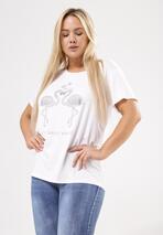 Biały T-shirt Exceedingly