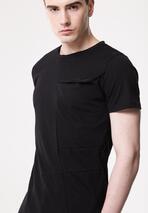 Czarna Koszulka Extempore