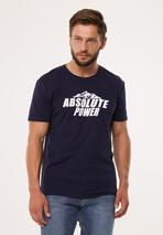 Granatowa Koszulka Optionally