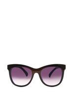 Czarno-Niebieskie Okulary Exposes
