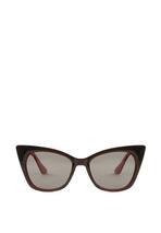 Czarno-Czerwone Okulary Meant