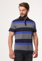 Szaro-Niebieska Koszulka Work Ethic