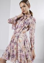 Fioletowa Sukienka Sensationalize