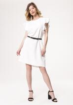 Biała Sukienka Dissipating