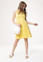 Żółta Sukienka Thunderclap