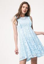 Jasnoniebieska Sukienka Thunderclap