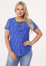 Niebieska Bluzka Trough