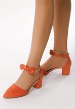 Pomarańczowe Czółenka Demystify