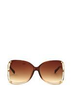 Brązowe Okulary Diminutive