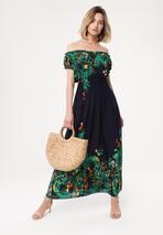 Granatowa Sukienka Contextualize