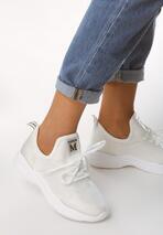 Białe Buty Sportowe Magneton