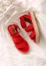 Czerwone Sandały Themed