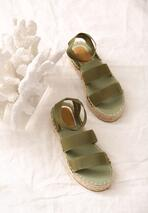 Zielone Sandały Themed